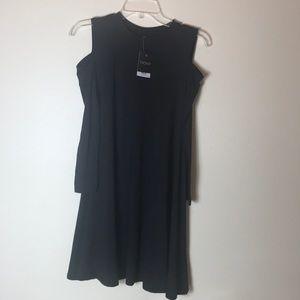 Never worn Topshop black dress